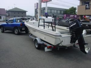 トレーラブル和船ボート
